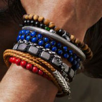 Men's Stacking Bracelet