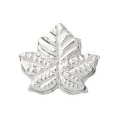 Maple Leaf Solderable Accent 10x8mm Sterling Silver