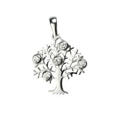 Tree of Life Pendant 24mm Sterling Silver (STS)