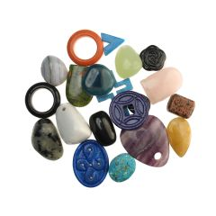 Gemstone Feature Bargain Pack Gemstone Feature Front/Pendant Pack (20)