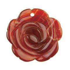 Gemstone Feature 40mm Rose Carnelian