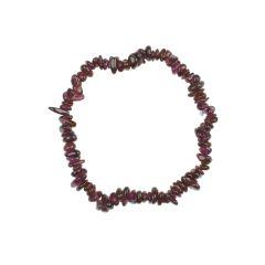 Superior Gemstone Tumblechip Bracelet Rhodonite Garnet