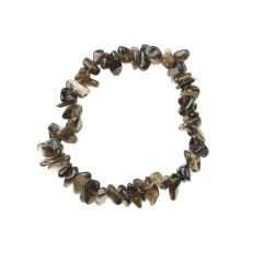 Superior Gemstone Tumblechip Bracelet Smokey Quartz