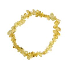 Superior Gemstone Tumblechip Bracelet Citrine