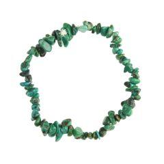 Superior Gemstone Tumblechip Bracelet Chinese Turquoise