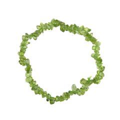 Superior Gemstone Tumblechip Bracelet Peridot
