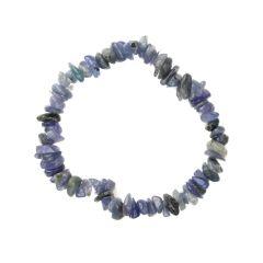 Superior Gemstone Tumblechip Bracelet Tanzanite