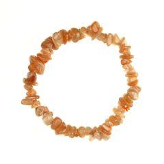 Superior Gemstone Tumblechip Bracelet Sunstone Gold
