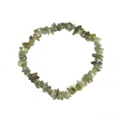 Superior Gemstone Tumblechip Bracelet Labradorite