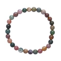 Fancy Jasper 6mm Gemstone Bead Bracelet