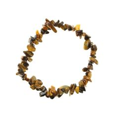 Superior Gemstone Tumblechip Bracelet Tiger Eye