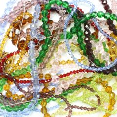 Bargain Pack Glass Bead Strands Mixed (20)