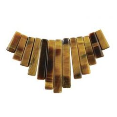Gemstone Feature Tapered Set 13 piece Tiger Eye