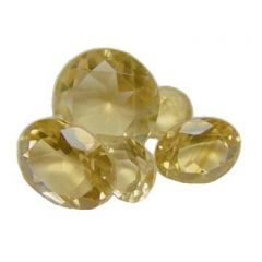 8mm Citrine Facet