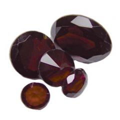 8mm Garnet Orissa Facet