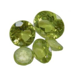 8x6mm Peridot Facet