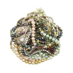 Bargain FWP Small  Mixed Coloured Pearl Pack (10) Strands NETT