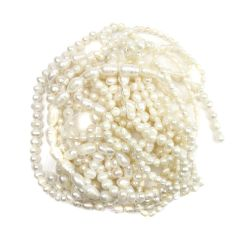 Bargain FWP Large White Pearl Pack (10) Strands NETT