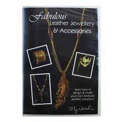 Fabulous Leather Jewellery & Accessories - DVD by Natalia Colman NETT