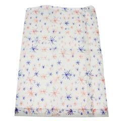 Starburst Design (red + blue) Paper Bag 250x355mm