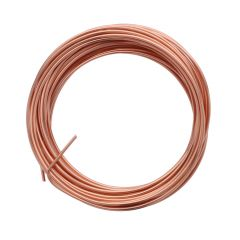 Parawire 16 Gauge (1.29mm) Non Tarnish Copper Wire 15ft (4.6m) Coil