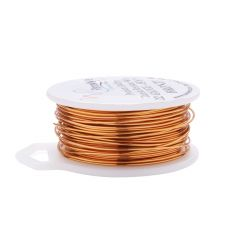 Parawire 22 Gauge (0.64mm) Bronze Wire 15 Yard (13.7m) Spool