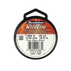 Beadalon Wildfire Thread Frost 0.20mm x 18.3m Reel
