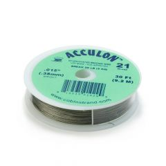 "Acculon Wire .015"" (21 strand) Bright 30 Foot Reel"