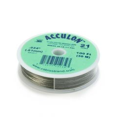 "Acculon Wire .024"" (21 strand) Bright 100 Foot Reel"
