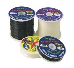 1.0mm Stretch Magic Beading Thread Clear 100 Metre Reel