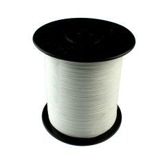 Beading Thread White 0.6mm 1000  Meter Length