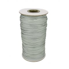 Silver Grey Waxed Beading Cord 2mm 100 Metre Reel