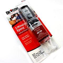 Devcon 5-Minute Epoxy Glue Syringe 28grms