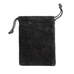 "Corrosion Intercept® Anti-Tarnish Fabric Pouch 2.75 x 3.5"" Black"