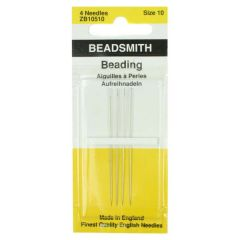 John James Beading Needle Size 10 (4PKT)