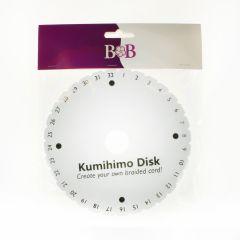 BB Kumihimo Round Disk 15x15cm