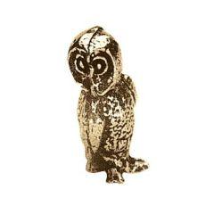 "Owl 1"" Metal Figure"