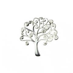 Tree of Life Pendant 21mm Sterling Silver