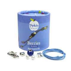 Berries Bag Charm Pipkit Blueberry