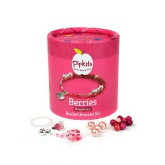 Berries Beaded Bracelet PipKit Raspberry